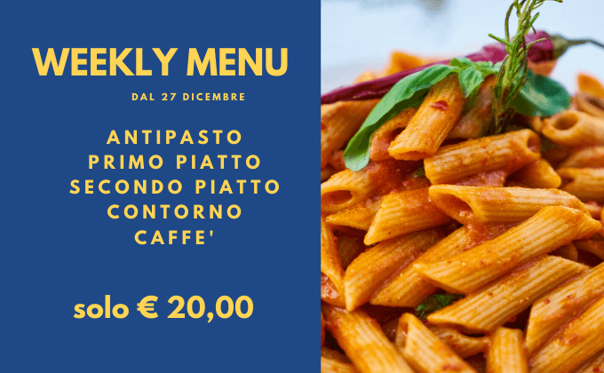 banda weekly menu